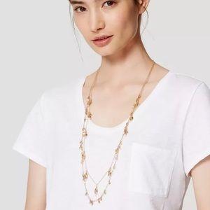🆕Ann Taylor Loft Beaded Chain Necklace